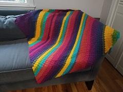 Corner-to-Corner Blanket