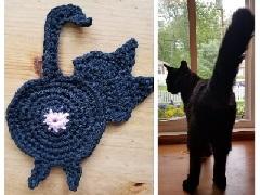 Cat Butt Coaster