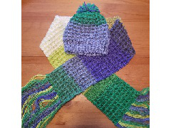 Kids' Hat and Scarf