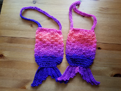 Kids' Mermaid Purse