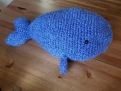 Stuffed Whale